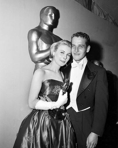 Academy Awards fashions through the years: Joanne Woodward, 1958