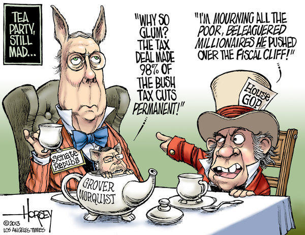 "Tea party conservatives feel betrayed by ""fiscal cliff"" deal"