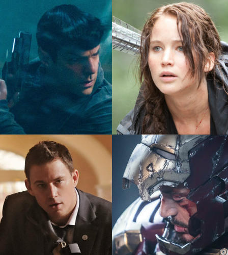 "2012 was an unusually fine year at the movies. So 2013 needs to bring it big time if it hopes to come anywhere close. <br><br>Fortunately, the year looks big. Really big.<br> <br> We're talking Katniss, Spock, Iron Man, Wolverine, Superman, Lone Ranger, Thor, Bilbo Baggins, One Direction, Hangover dudes, Ron Burgundy, giant robots versus giant monsters, and Channing Tatum protecting the President big.<br><br>But in Hollywood, bigger isn't always better. Let's hope for the best from the following 23 highlights and everything else due out in 2013.<br><br>  <i>-- <a href=""http://twitter.com/geoffberkshire"">Geoff Berkshire</a>, <a href=""http://www.zap2it.com"">Zap2it</a></i>"