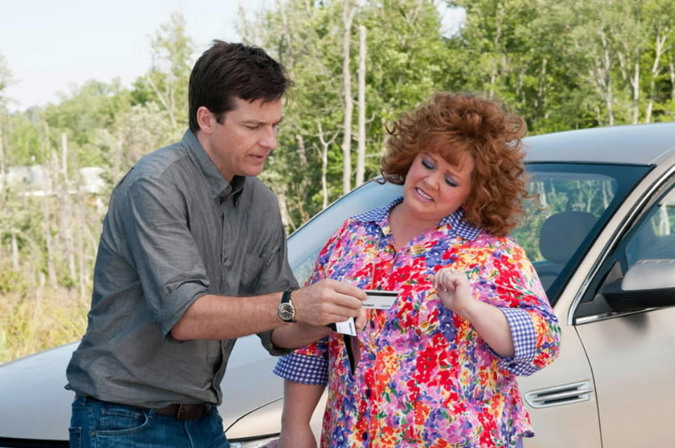 """""""Horrible Bosses"""" featured, among others, Jason Bateman; here he reunites with the director of that raunchfest, Seth Gordon, this time sparring with the well-loved and """"Bridesmaids""""-hot Melissa McCarthy. You can see it at the theater of your choice; all you have to provide is the admission price, a Social Security number and your ATM password."""