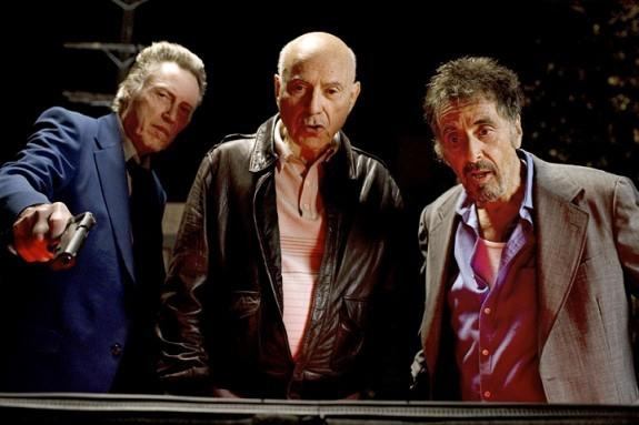 Al Pacino. Christopher Walken. Alan Arkin. Pacino's character gets out of prison after 28 years and reunites with his old partner, Walken, who has been hired to take out Pacino. Julianna Margulies co-stars in the film that opened last year's Chicago International Film Festival.