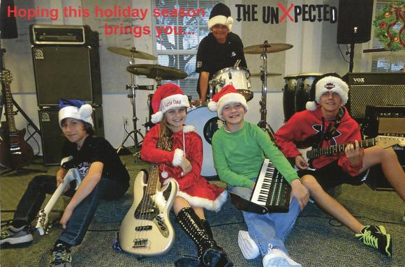 The UnXpected, young musicians from Williamsburg, will celebrate a CD release on Jan. 27 in Virginia Beach.