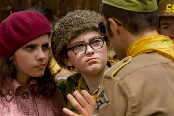 "Wes Anderson and Roman Coppola were nominated for a WGA award for their screenplay for ""Moonrise Kingdom."""