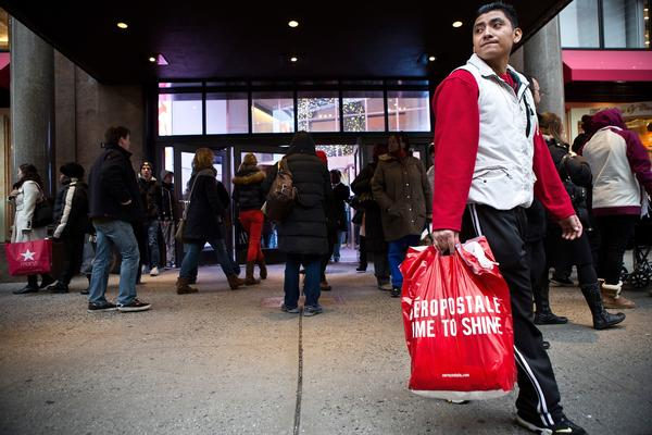 The holiday season was not as merry as retailers had hoped.