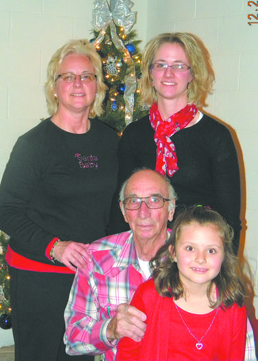 Four generations of a Sharpsburg family