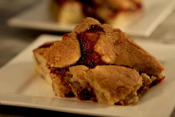 Bonus recipe: House of Bread's berry bars