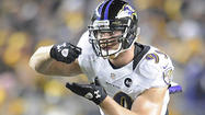 Paul Kruger, Ravens leader in sacks with nine, fell one short of goal
