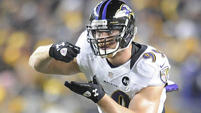 Paul Kruger, Ravens leader in sacks with nine, fell one short o…