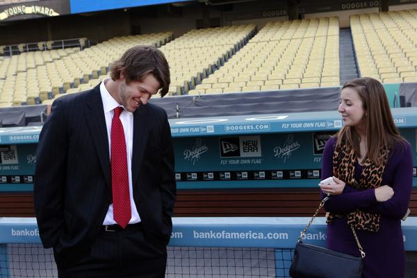 Clayton and Ellen Kershaw