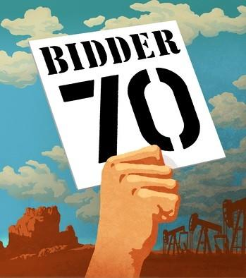 "American Conservation Film Festival will show ""Bidder 70"" and two other top films from the 2012 festival on Saturday, Jan. 12, at Weinberg Center for the Arts in downtown Frederick, Md."