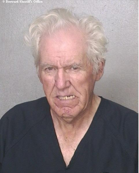 Joseph Hogan, 92, is jailed for the third time since 2011 on violent-related charges.