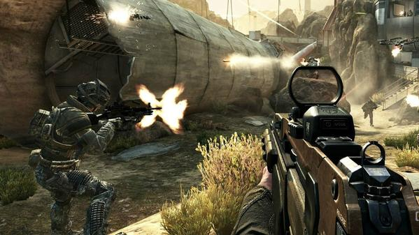 A scene from Call of Duty: Black Ops 2, the latest version in the popular video game franchise.