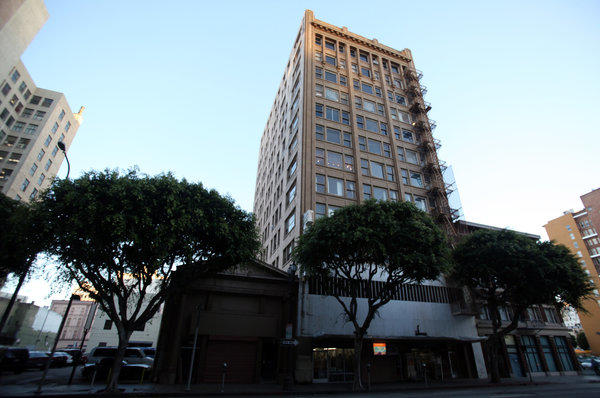 The Corporation Building at 724 S. Spring St. in Los Angeles will be converted to creative offices by new owner Izek Shomof.