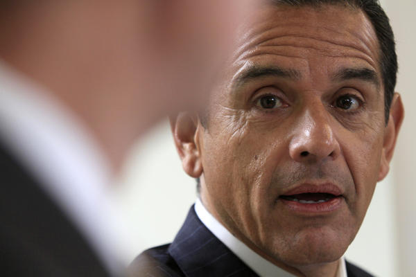 Antonio Villaraigosa's election in 2005 signaled that Latinos at last had a seat at the table politically and were becoming more socially integrated. Above: Mayor Villaraigosa is seen on Jan. 4.