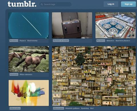 Tumblr, a social network popular among young users and creative types, is posed for a big 2013. It may have brought in only $13 million in revenue last year, but it's set a lofty goal for this year: $100 million.