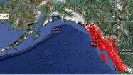 "<em>UPDATE: The West Coast & Alaska Tsunami Warning Center has <strong><span style=""text-decoration: underline;"">canceled</span></strong> the tsunami warning for Alaska, effective 1:58 a.m. Saturday. </em>"