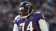 For the second time in three years, Michael Oher has started all 16 regular-season games at left tackle. The organization's top pick in the 2009 NFL draft, Oher has yet to miss a start in his NFL career, stringing together a remarkable run of avoiding serious injury. The 26-year-old also leads the Ravens offensive line in total snaps played this season (1,058), according to Football Outsiders. But Oher finished the regular season ranked 39th among offensive tackles in pass-blocking efficiency and surrendered 10 sacks, nine hits and 26 hurries, according to Pro Football Focus. The 6-foot-4, 315-pound Oher will meet one of his tougher challenges in Sunday's AFC Wildcard playoff game against Colts outside linebacker Dwight Freeney. The 11-year veteran is Indianapolis' all-time leader in sacks and ranks fifth in the NFL among active players. Oher reviewed his performance in last Sunday's 23-17 loss to the Cincinnati Bengals, during which he played both the left and right tackle positions, and his history against Freeney.