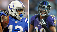 Colts WR T.Y. Hilton vs. Ravens CB Cary Williams