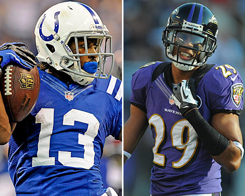 Hilton has outstanding speed and might be the fastest player on the field. The Ravens would like to jam the Colts at the line of scrimmage, but if Williams misses Hilton, it could result in a big play. Hilton has 50 catches for 861 yards and seven touchdowns. <b>Edge: Even</b>