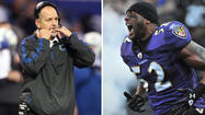 "For obvious reasons, the Ravens will be totally psyched to join Ray Lewis on his ""last ride"" when they take the field at M&T Bank Stadium in the wild-card round of the NFL playoffs on Sunday. The Indianapolis Colts also will show up with hearts afire for head coach Chuck Pagano, whose battle against leukemia has been the inspirational story of the season."