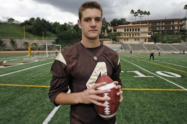 Jared Lebowitz of St. Francis High is the 2012 All-Area Football Player of the Year.
