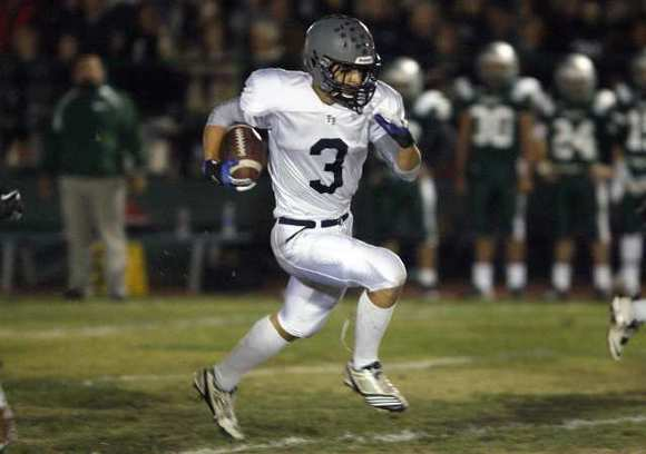 Flintridge Prep's Stefan Smith ran for 1,480 yards and 23 touchdowns on 148 carries en route to being named to the 2012 All-Area first team.