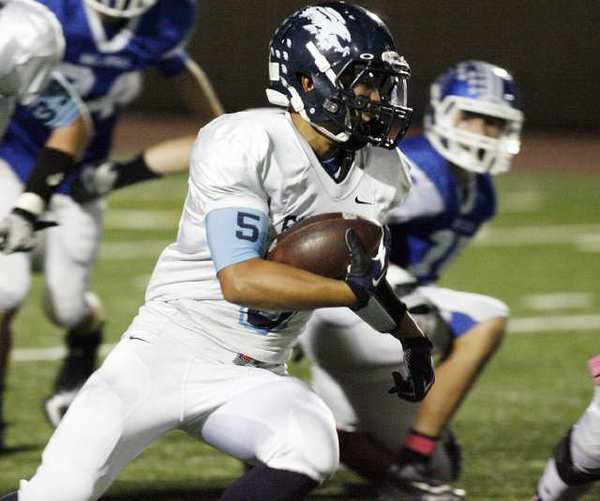 Crescenta Valley running back William Wang was named to the 2012 All-Area second team.