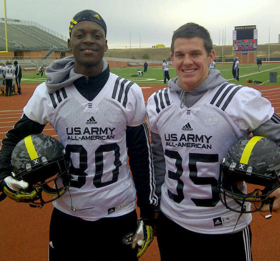 Tony Stevens, Johny Townsend, army all american bowl