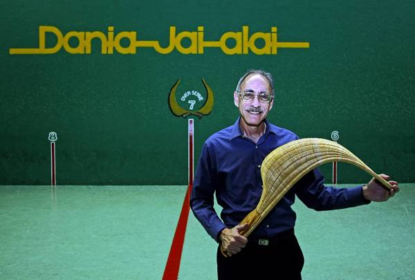 Marty Fleischman, general manager of Dania Jai-Alai, is retiring after 40 years.