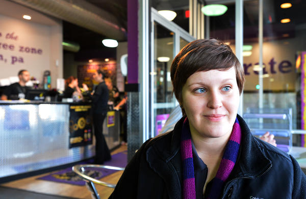Shelley Rehnert, of Jim Thorpe, who works close to Planet Fitness in Allentown. Her New Years Resolution is be become healthier. New Years Resolutions bring an influx of runners and lifters the gym every January, helping those businesses beef up their numbers. But some workout warriors can't wait for the new gym members to drop out.