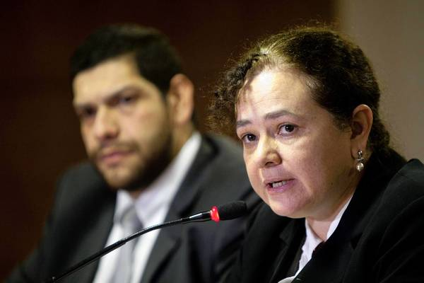Atty. Gen. Claudia Paz y Paz, seen in October, is taking on the titans of the Guatemalan past: military men and security chiefs whom she has accused of human rights abuses during the nation's civil war.