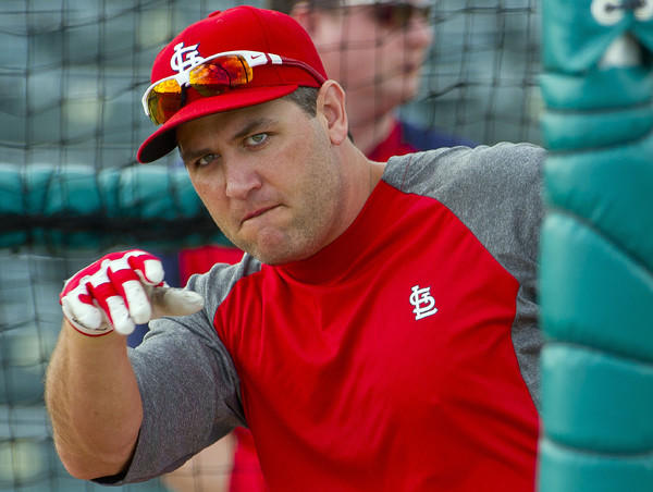 The former Cardinals switch hitter has agreed to a one-year deal with the Texas Rangers worth a reported $10 million.