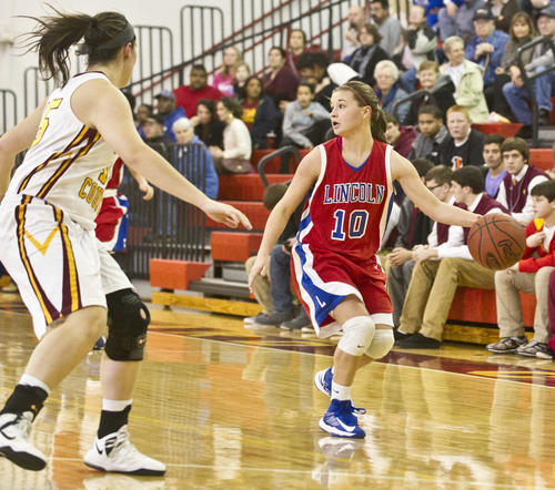Photo Gallery: Lincoln County girls at Garrard County 010513