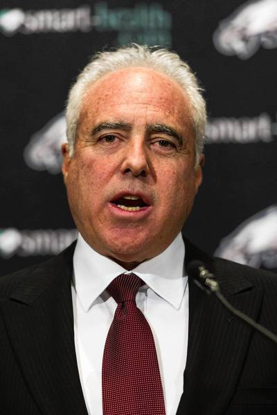 Philadelphia Eagles chairman and CEO Jeffrey Lurie