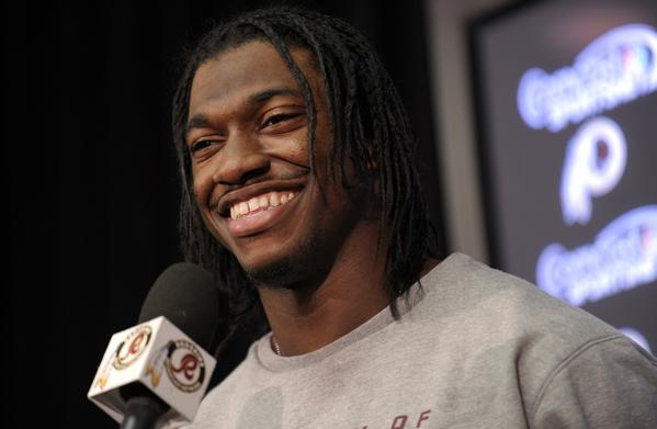 It didn't take long for Robert Griffin III to make the transition from Heisman Trophy winner at Baylor to NFL star with the Redskins. He faces another rookie in his first playoff game.
