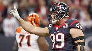 Defense sparks Texans past Bengals in playoff opener