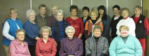 The Zonta Club of Aberdeen will have its Rose Luncheon Jan. 26. In the back row, from left, are Kathy Knudsen, Carol Iwerks, Colleen Callum, Linda Locken, Bonnie Clausen, Mary Davis, Marilyn Kohles, Lizzie Guiliani and Gloria Smith. In the middle row are Dorene Nelson, Heather Wells and Mickey Gefre. In the front row are RoseMary Jira, Lavonne Miller, Catherine Clinton, Joyce Beckler and Jacki Omland.