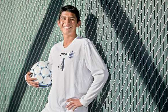 Newport Harbor High sophomore Alan Alcantara is the Daily Pilot High School Athlete of the Week.