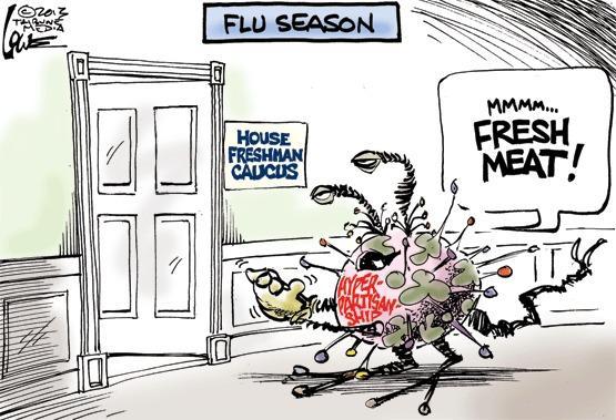 Cartoon by Chan Lowe
