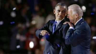 It's official: Obama, Biden win second term