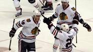 Here come the Hawks, the mighty Blackhawks.