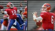Rather than spend next season as Jeff Driskel's back-up, Gators back-up quarterback Jacoby Brissett has decided to transfer, Jack Daniels, his coach at Dwyer High School, confirmed Sunday.