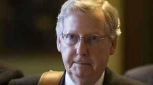 Mitch McConnell underscores battle lines in budget fight