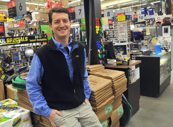 Jared Littmann, owner of Tru-Value Hardware on Forest Drive, will be sworn in as Annapolis's newest alderman on Jan. 14. He is filling the Ward 5 seat vacated by Matthew Silverman, who resigned due to work commitments with a year remaining on his term.