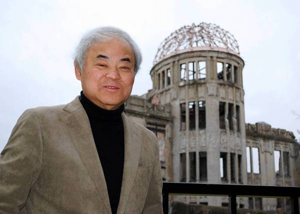 Cartoonist Keiji Nakazawa was a first-grader standing outside of his school when the U.S. dropped the bomb that killed more than 100,000 people, including his father, brother and a sister.