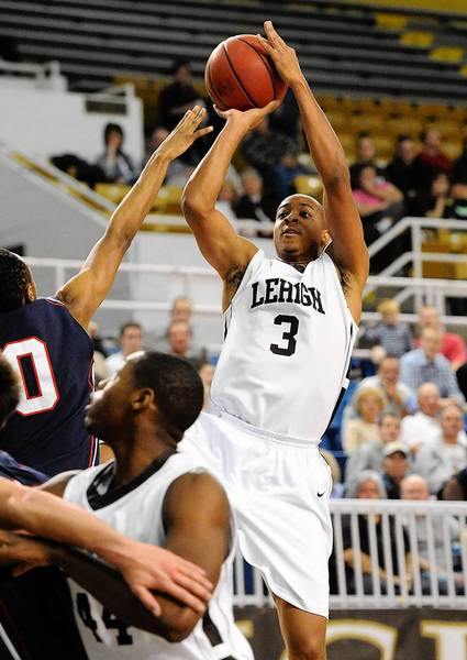 Lehigh's C.J. McCollum (right) is out two months with a broken foot.