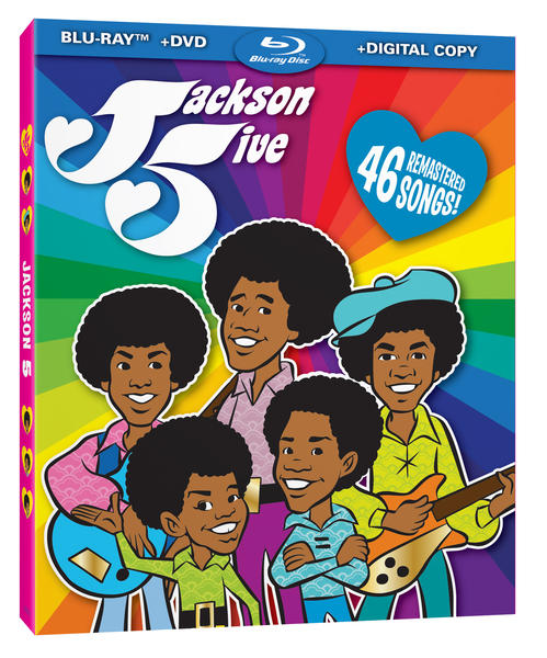 The Jackson 5 animated TV series is being released on DVD and Blu-Ray for the first time.