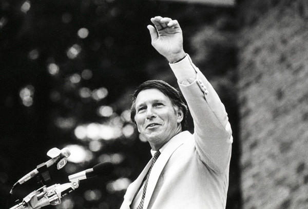 Brooks Robinson is inducted into the Baseball Hall of Fame on July 31, 1983.