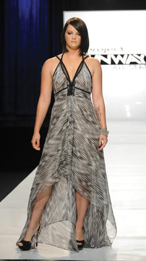 "Jessica Lord of Martinsburg, W.Va., was chosen to be a model for Lifetime's ""Project Runway All Stars"" for an episode titled ""All Stars and Stripes,"" which saluted female veterans. Lord served as a Marine from 2006 to 2011."