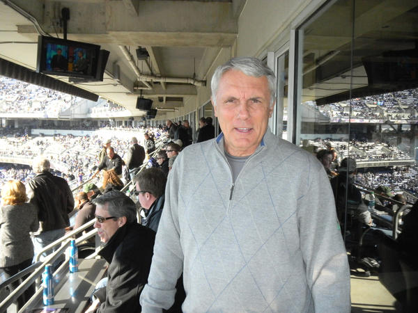 Gary Williams, former University of Maryland basketball coach, was spotted at the suite of Ravens owner Steve Bisciotti.